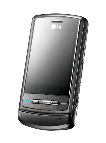 LG KE970 Shine Unlocked Cell Phone with 2 MP Camera, MP3/Video Player, MicroSD Slot--International Version with No Warranty (Titanium Black)