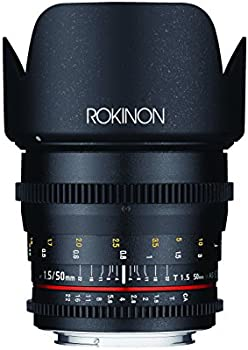 Rokinon 50mm T1.5 Cine DS Lens