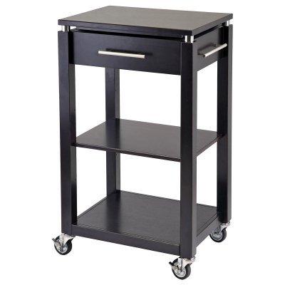 Cheap Winsome Linea Kitchen Cart with Chrome Accent (B006VIHV6Q)