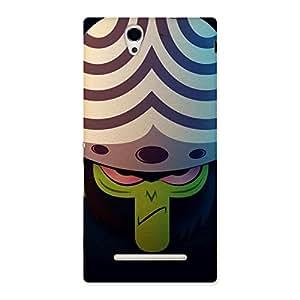 Impressive Premier Moj Multicolor Back Case Cover for Sony Xperia C3