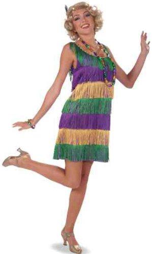 Mardi Gras Flapper Costume