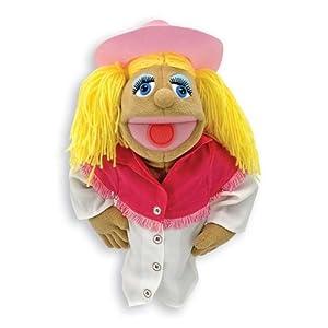 Melissa Doug Cowgirl Puppet by Melissa & Doug