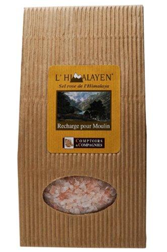 Sel Rose de l'Himalaya - Concassé - Recharge de Moulin...