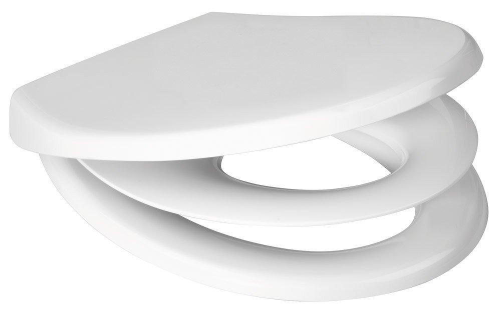 Toilettendeckel WC Deckel mit Absenkautomatik SANWOOD HOME  BaumarktKundenbewertung und weitere Informationen