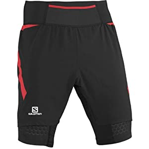 Salomon Mens EXO S-Lab Twinskin Shorts by Salomon