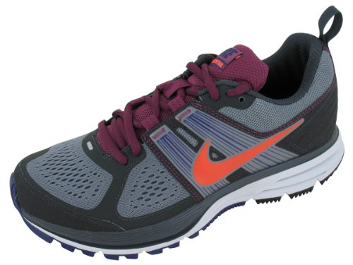Nike Women's NIKE AIR PEGASUS+ 29 TRAIL WMNS RUNNING SHOES 7 Women US (CL GRY/BRGHT CRMSN/ANTHRCT/NGH)