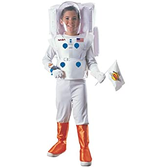 Kid's Nasa Astronaut Costume (Size:Medium 8-10)