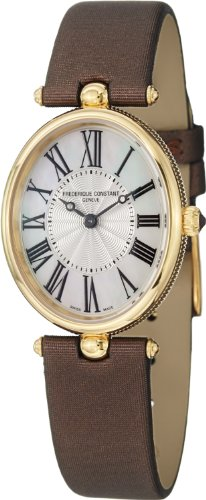 Frederique Constant Art Deco Yellow Gold-plated Ladies Watch FC-200MPW2V5