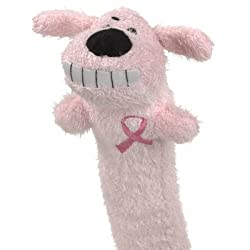 Pink Breast Cancer Loofa Dog - 18""