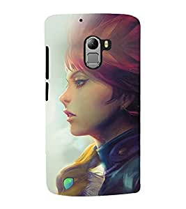 printtech Blue Rose Nature Back Case Cover for Lenovo K4 Note A7010a48, A7010