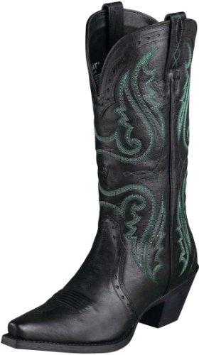 Ariat Women's Heritage Western X Toe Vintage Black 8.5