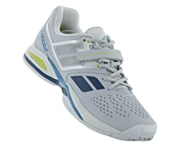 Babolat Propulse Bpm All Court Mens Tennis Shoes (Grey/Blue) (10.5 D(M) US)