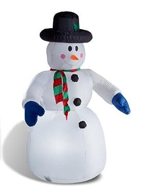 Aufblasbarer Schneemann 180 cm LED - beleuchtet von  in [ProductCategories]