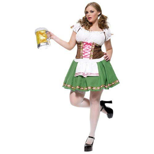Plus Size Two Piece Gretchen Costume