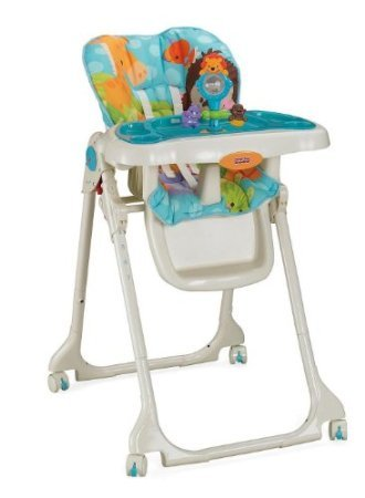 Fisher-Price Precious Planet Sky Blue High Chair back-827704