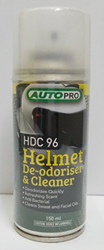 HELMET DE-ODORISER AND CLEANER