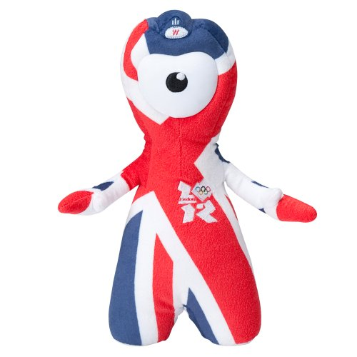 Olympic Mascots 25cm Union Jack Wenlock - 1