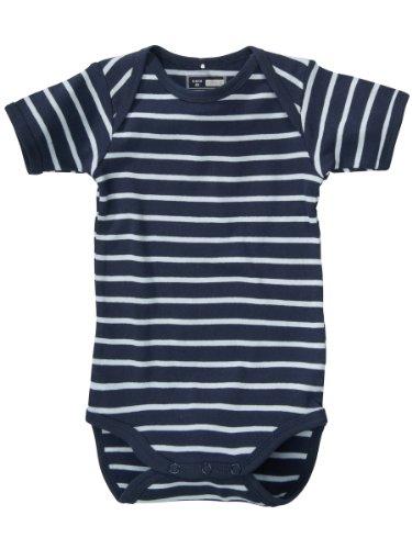 Name It Valf Newborn Ss Vest - Navy - Navy - 2-4 Months
