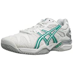 Buy ASICS Ladies Gel-Resolution 5 Clay Court Tennis Shoe by ASICS