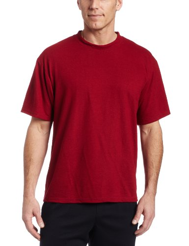 Mj Soffe Men's Dri-Release Tee, Cardinal, Medium