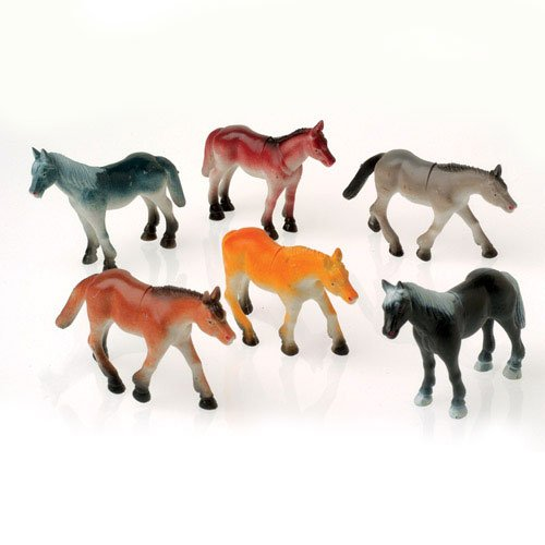 Jumbo Horse Toy Animals