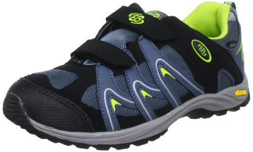 Bruetting Vision Low V Kids Trekking & Hiking Shoes Unisex-Child Black Schwarz (petrol/schwarz/lemon) Size: 38/5 UK