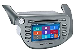 See Crusade Car DVD Player for Honda Fit / Jazz 2007-2013 Support 3g,1080p,iphone 6s/5s,external Mic,usb/sd/gps/fm/am Radio 7 Inch Hd Touch Screen Stereo Navigation System+ Reverse Car Rear Camara + Free Map Details