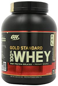 Optimum Nutrition 100% Whey Gold Standard, Caramel Toffee Fudge, 5 Pound