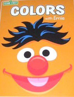 Sesame Street Colors with Bernie Coloring and Activity Book
