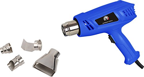 New Heat Gun Hot Air Dual Temperature+4 Nozzles Power Tool 1500 Watt W Heatgun (Gas Operated Dryer compare prices)