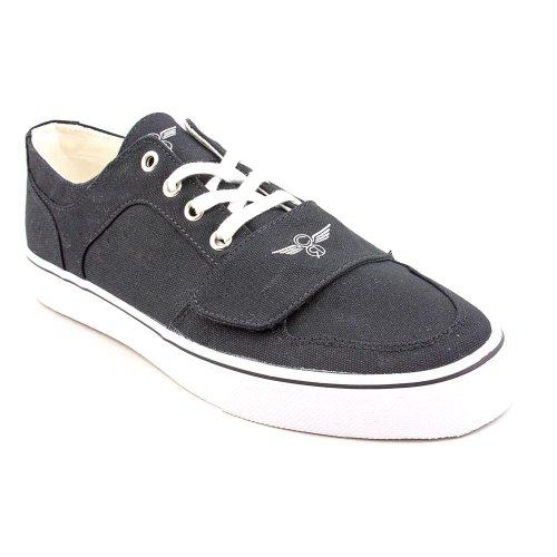 Creative Recreation Men's Cesario Lo XVI Sneaker, Black, 8.5 M US