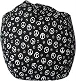Bean Bag Peace Black
