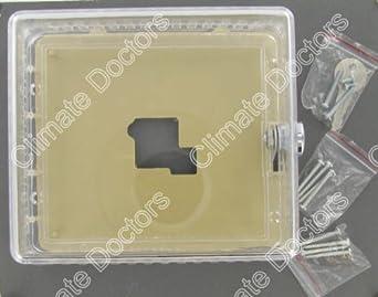 Clear Plastic Thermostat Guard Cover- BTGK NEW