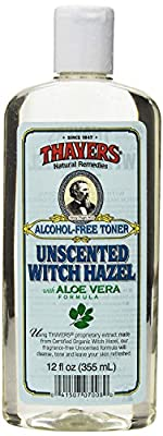 Thayer Unscented Witch Hazel, 12 Fluid Ounce(Pack of 2)