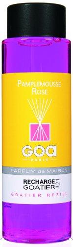 Goa 25921 Diffuseur Recharge Goatier Pamplemousse Rose 250 ml