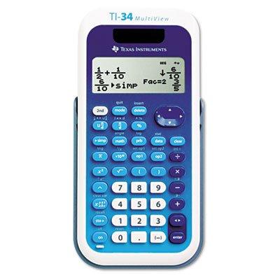 Texas Instruments 34 MultiView Scientific Calculator Bulk 34MV/BK