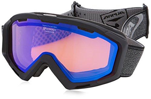 Alpina Skibrille PANOMA S QM White Stripes