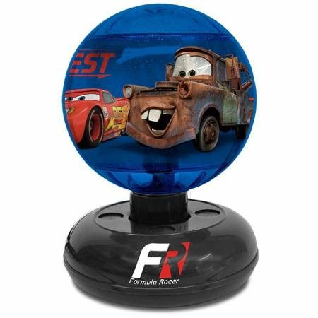 Disney Cars Lamp Mater Lightning Mcqueen Rotate Nightlight On Off Switches, Blue (Disney Cars Night Lamp compare prices)