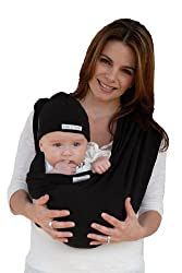 Baby K'tan Baby Carrier - Black - Small