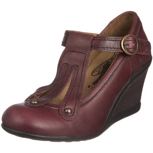 Fly London Women's Jema Purple Wedge Heel P141734004 Purple 5 UK