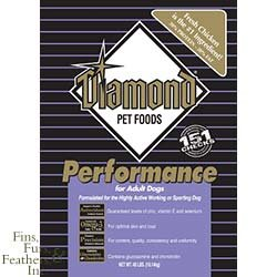Diamond Performance Chicken Flavor Dry Adult Dog Food, 40-Pound Bag