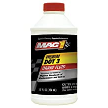MAG1 122 Premium DOT 3 Brake Fluid - 12 oz.