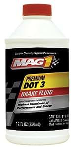MAG1 122 Premium DOT 3 Brake Fluid - 12 oz.