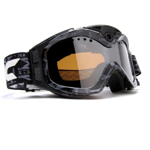 Liquid Image Xsc - Xtreme Sport Cams 384 All-Sport S/Blk Hd Camera Goggles With Video Camera And Lcd Screen (Solid Black)
