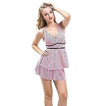 H:oter New Korean Design One-Piece Swimsuit Pink