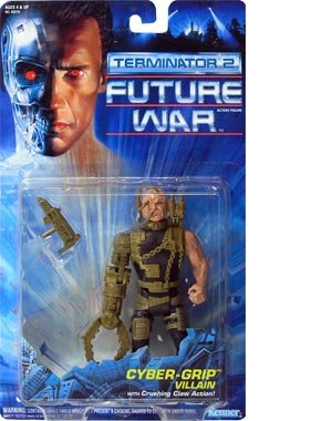 Terminator 2: Future War Cyber-Grip Villain Figure - 1