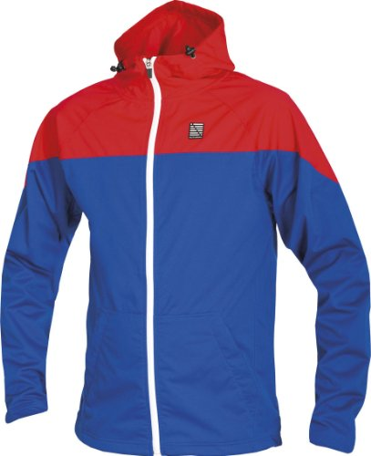 Altura Attack 360 Windproof Softshell Mens Jacket - Blue / Red