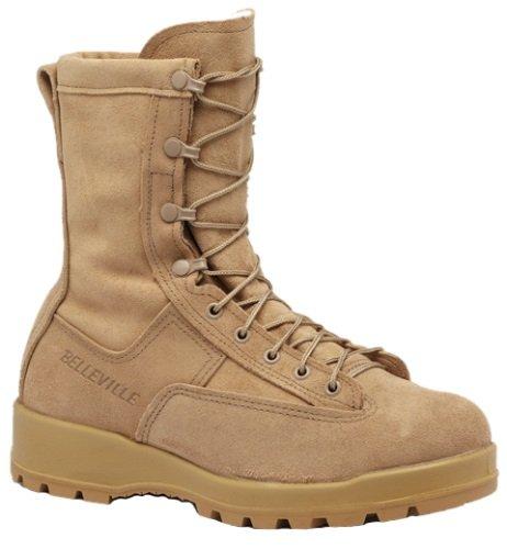 db9372b6df4 Belleville 775ST Men's 8-in WP ST EH Tactical Boot Tan 3 W US ...