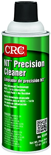 Crc Nt Precision Cleaner, 12 Oz Aerosol Can, Clear