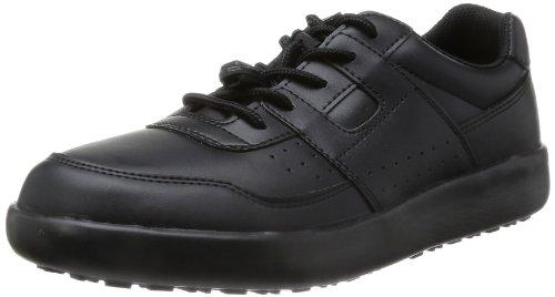 [ミドリ安全] 作業靴 耐滑 スニーカー H711N H711N ブラック(ブラック/27.5)